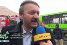 Photo of گفتگوی شهردار شاهرود با شاهوار فردا در راهپیمایی ۲۲ بهمن ۹۸