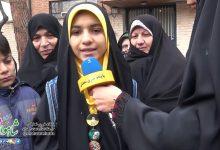 Photo of حرفهای زیبای کودکان شاهوار در راهپیمایی ۲۲ بهمن ۹۸ شاهرود